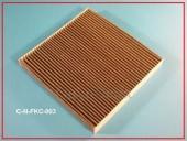 przeciwpyłkowy filtr węglowy, przeciwpyłkowy filtr, filtry przeciwpyłkowe z węglem aktywnym do samochodów honda accord viii, cr-v iii, legend