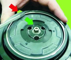 regenerowana sprężarka, naprawa sprzęgła sprężarki Denso