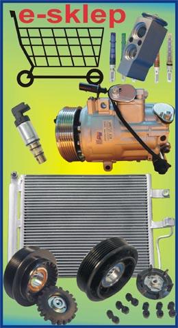 klimatyzacja samochodowa sklep, regeneracja sprężarek klimatyzacji, auto klima